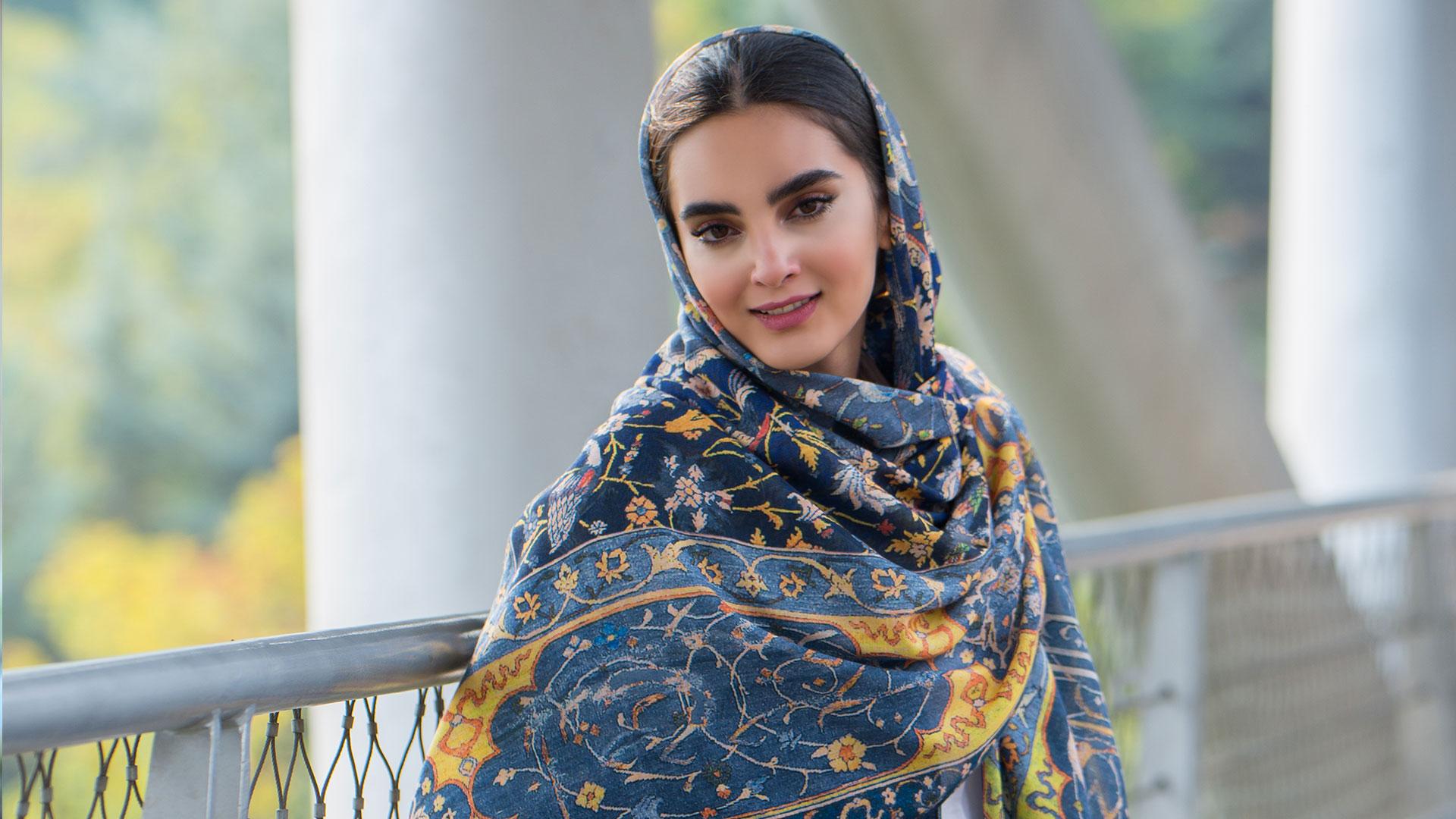 فاکتورهای مهم در انتخاب مدل بستن شال و روسری