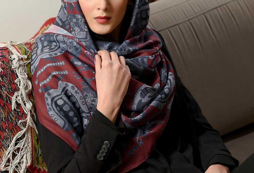 برترین برند روسری زرشکی | مدل 2020