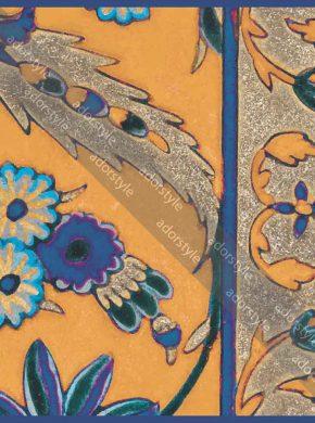 روسری گل هندی