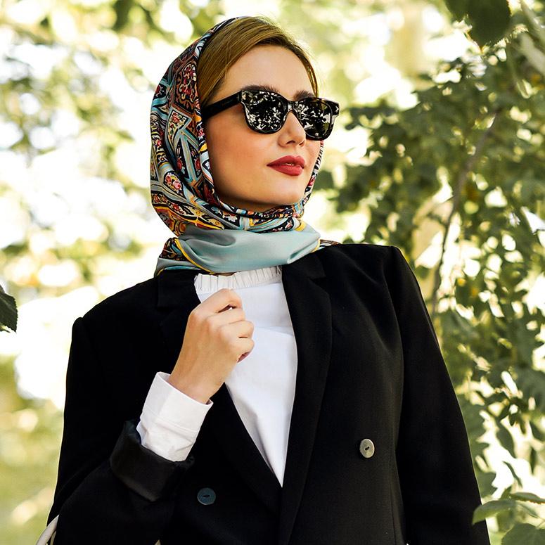 روسری کاشی شیراز